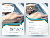 Brochure design templates layout  Vector - Illustration