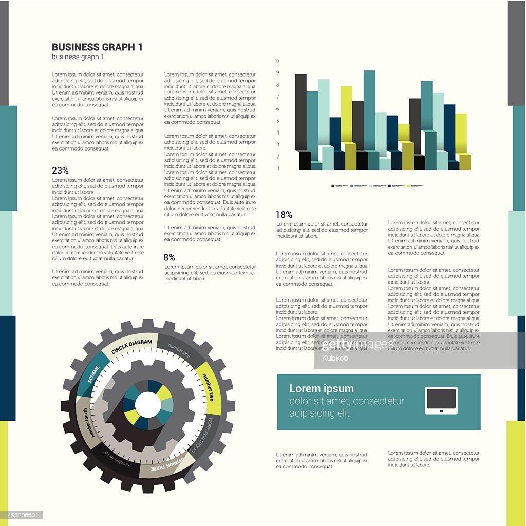 Brochure, flyer design template.