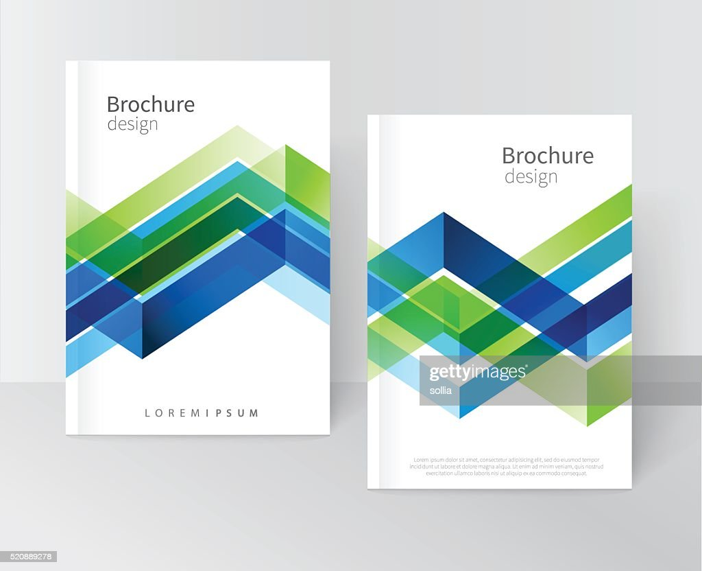 Brochure, leaflet, flyer, cover template