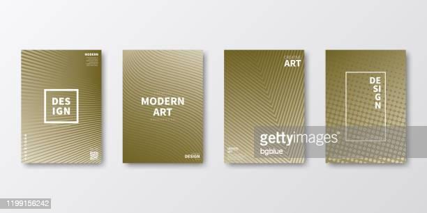 パンフレットテンプレートレイアウト、ブラウンカバーデザイン、ビジネス年次報告書、チラシ、雑誌 - 雑誌の表紙点のイラスト素材/クリップアート素材/マンガ素材/アイコン素材