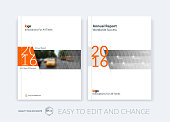 Brochure template layout, cover design annual report