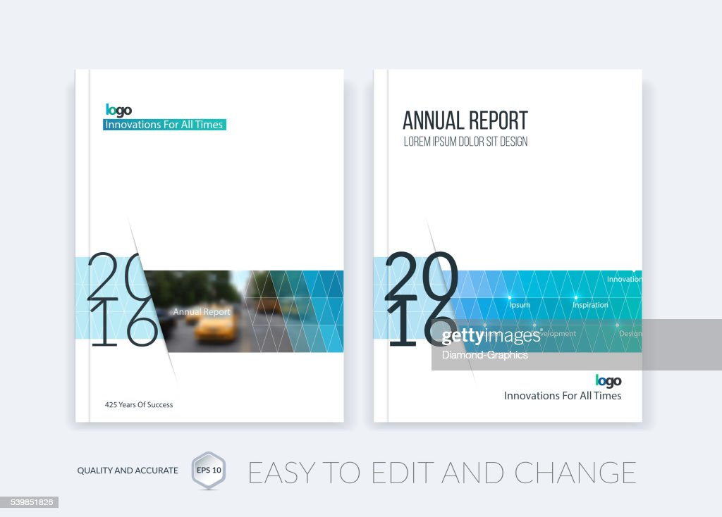 Brochure template layout, cover design annual