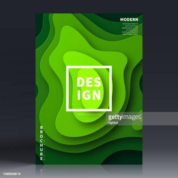 broschüre vorlage layout, cover-design, jährlichen geschäftsbericht, flyer, magazine - topografie stock-grafiken, -clipart, -cartoons und -symbole