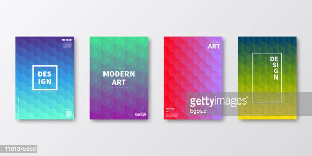 broschüren-vorlagenlayout, cover-design, geschäftsjahresbericht, flyer, magazin - sechseck stock-grafiken, -clipart, -cartoons und -symbole