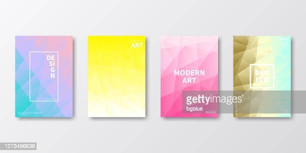 パンフレットテンプレートのレイアウト、表紙デザイン、ビジネス年次報告書、チラシ、雑誌 - 雑誌の表紙点のイラスト素材/クリップアート素材/マンガ素材/アイコン素材