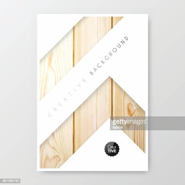 Brochure sjabloon lay-out met cover ontwerp, jaarlijkse bedrijfsrapport, flyer, magazine