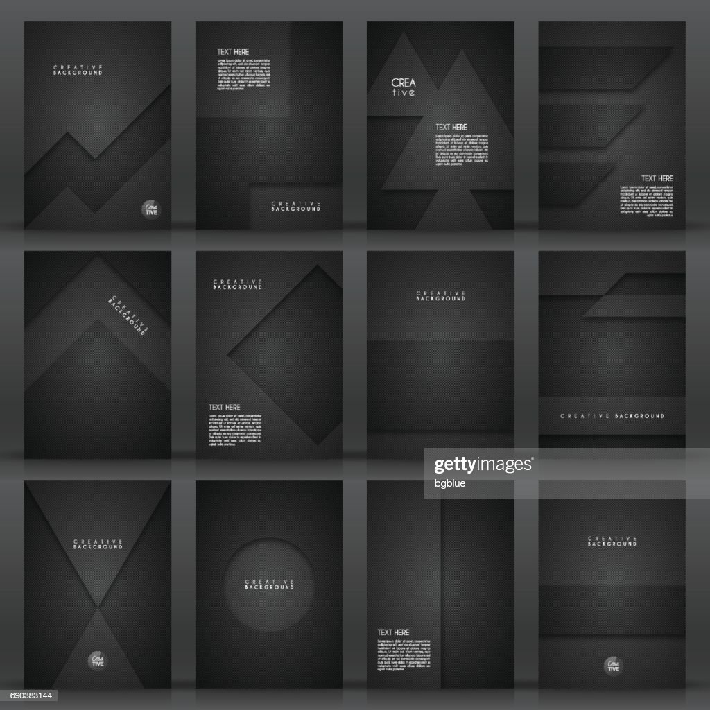 Brochure template layout, cover design, business annual report, flyer, magazine : stock illustration