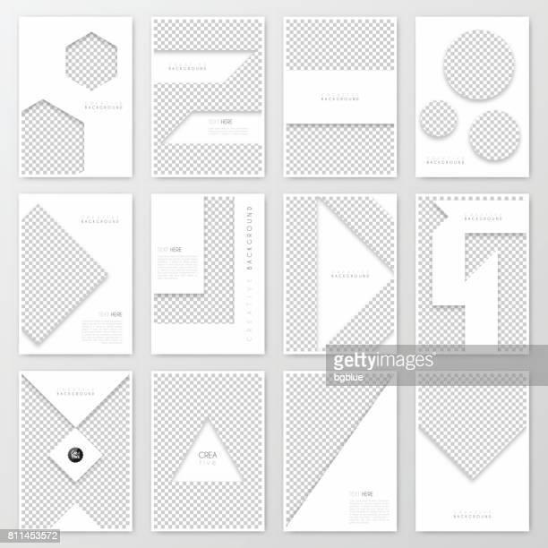 Disposition de modèle de brochure, conception de la couverture, rapport annuel d'activités, flyer, magazine