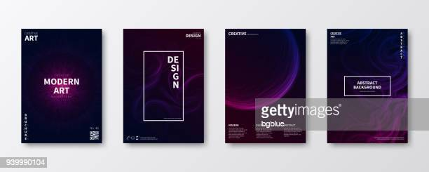 brochure template layout, cover design, business annual report, flyer, magazine - dark stock illustrations