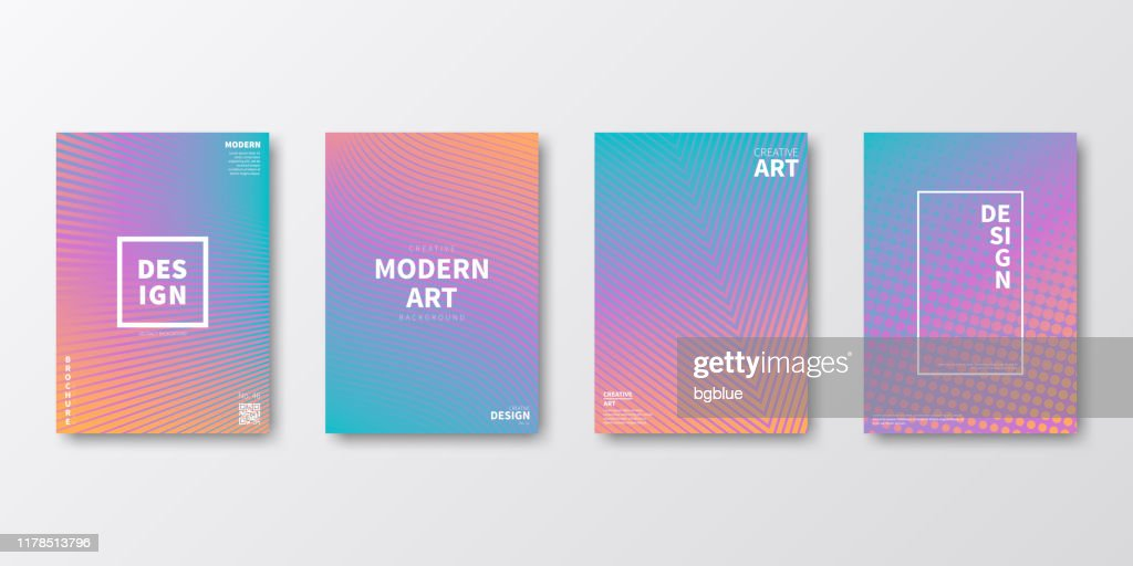 Brochure template layout, Purple cover design, business annual report, flyer, magazine : stock illustration