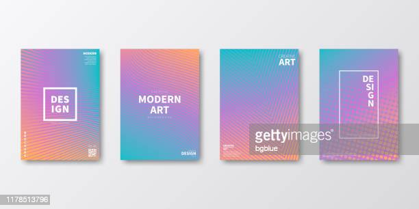 brochure template layout, purple cover design, business annual report, flyer, magazine - orange color stock illustrations