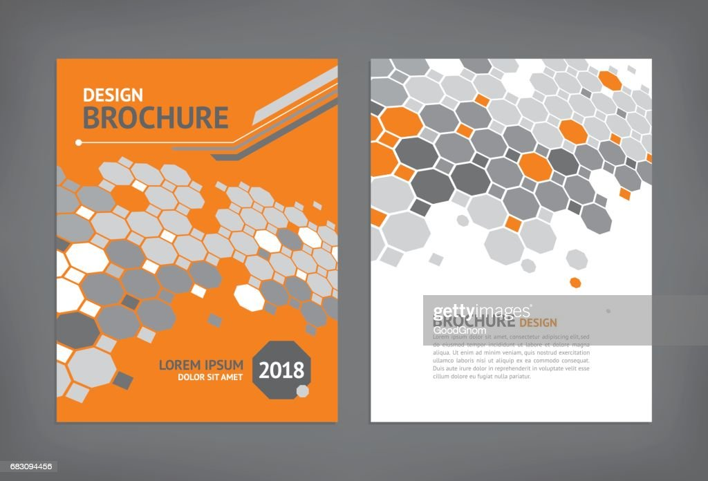 Brochure template : stock illustration
