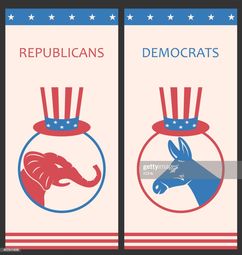 Brochures for Advertise of United States Political Parties