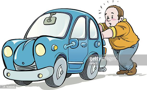 ilustraciones, imágenes clip art, dibujos animados e iconos de stock de coche roto - car crash