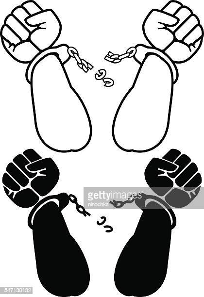 60 Top Breaking Chains Stock Illustrations, Clip art