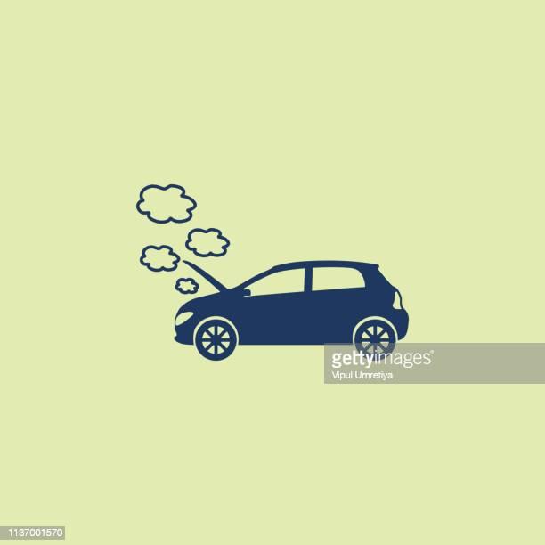 Broken Down Car Icon