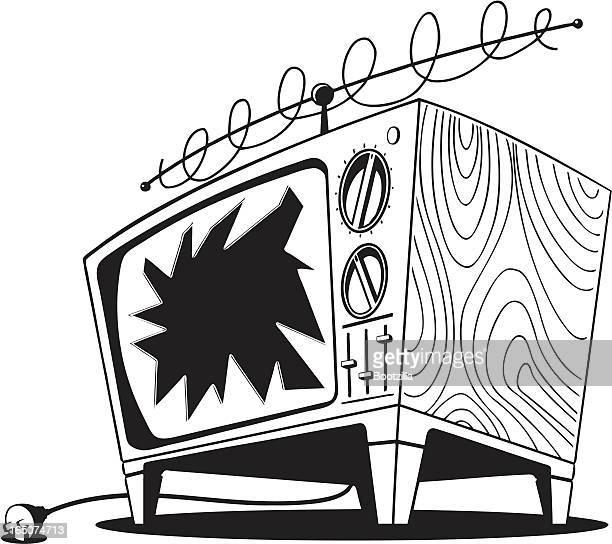 Broken-Fernseher