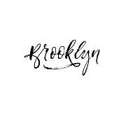 Brooklyn vector phrase.
