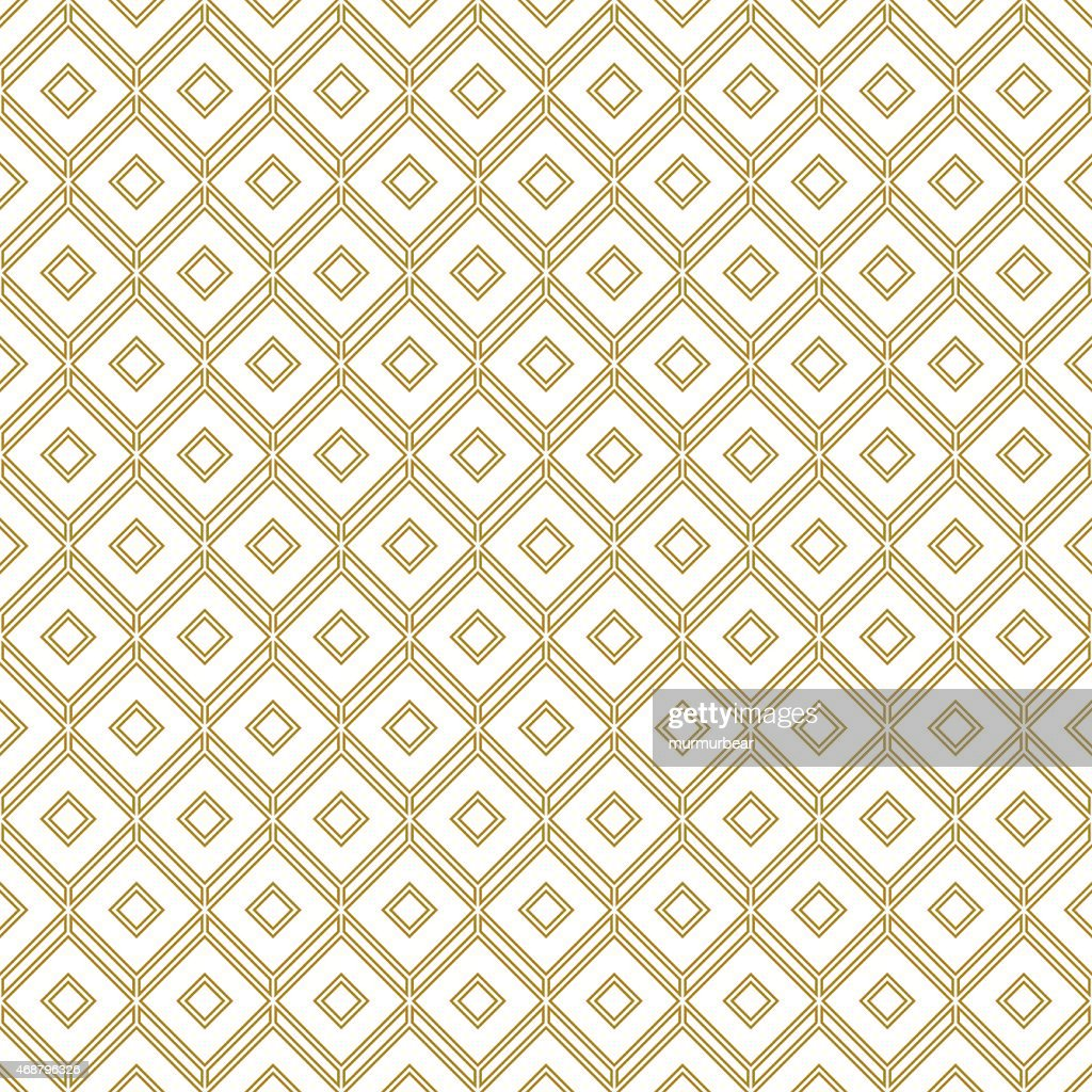 Brown and white geometric pattern