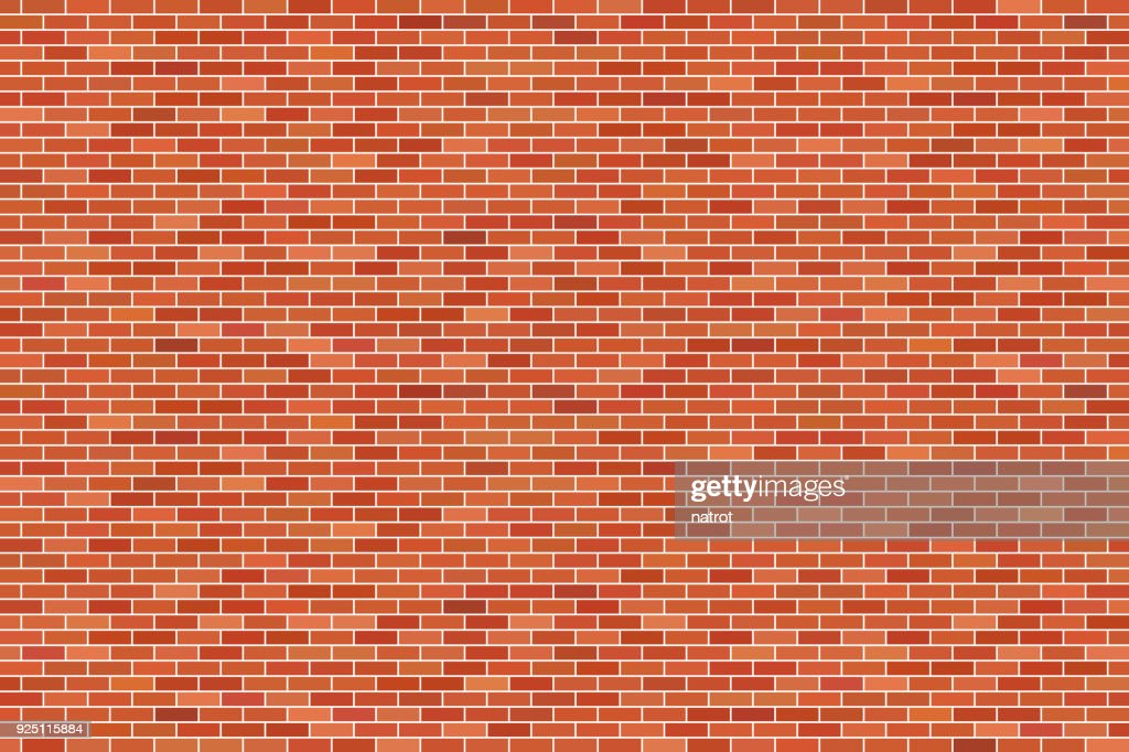 Brown brick wall background