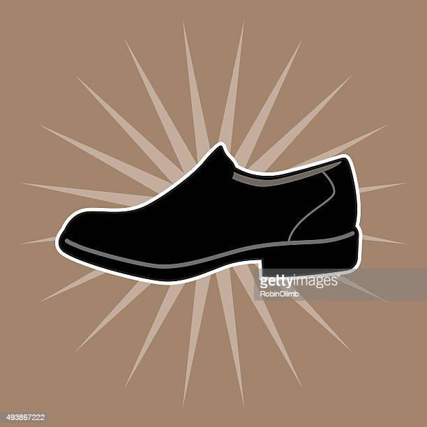 Brown Burst Shoe Icon