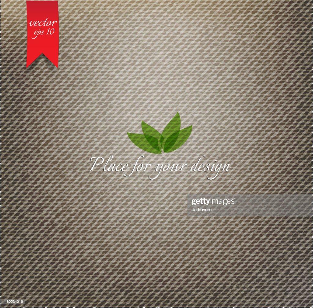 Braun Stoff Textur : Vektorgrafik