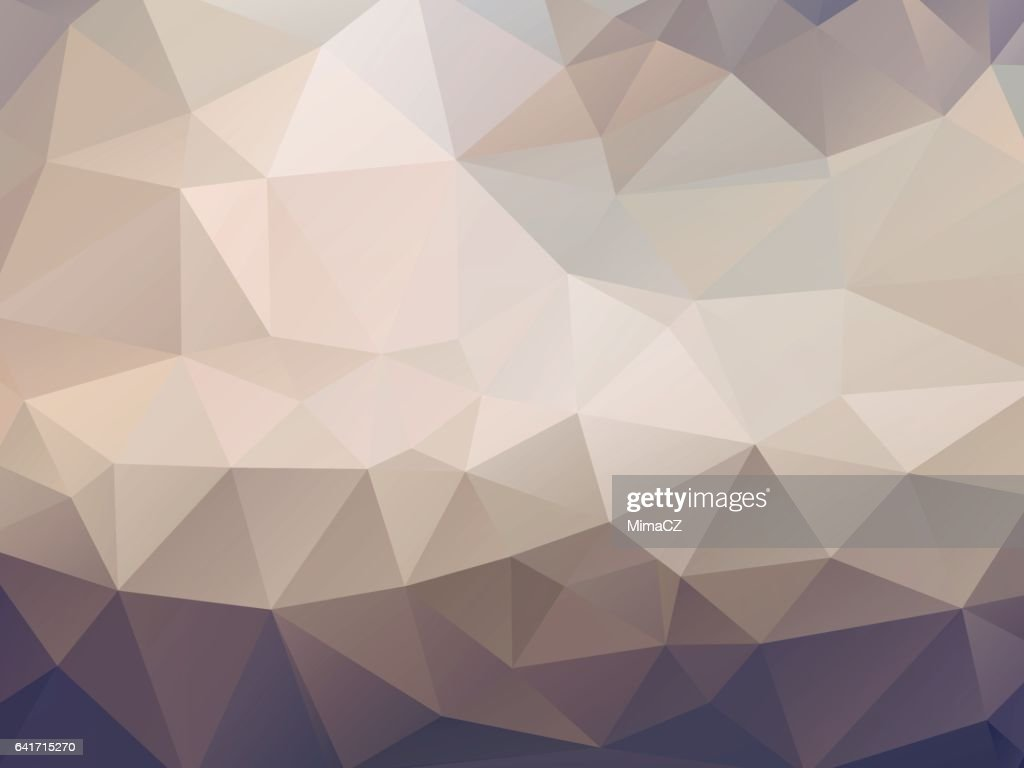 brown geometric mosaic background
