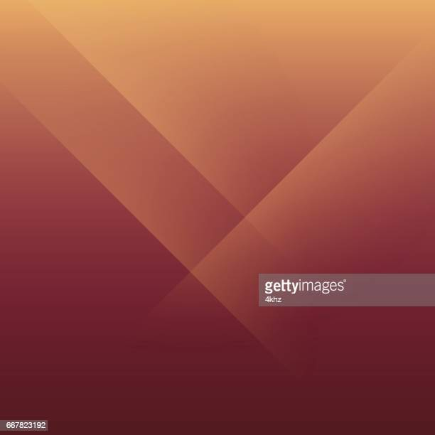 Brown Orange Minimal Fold Line Background