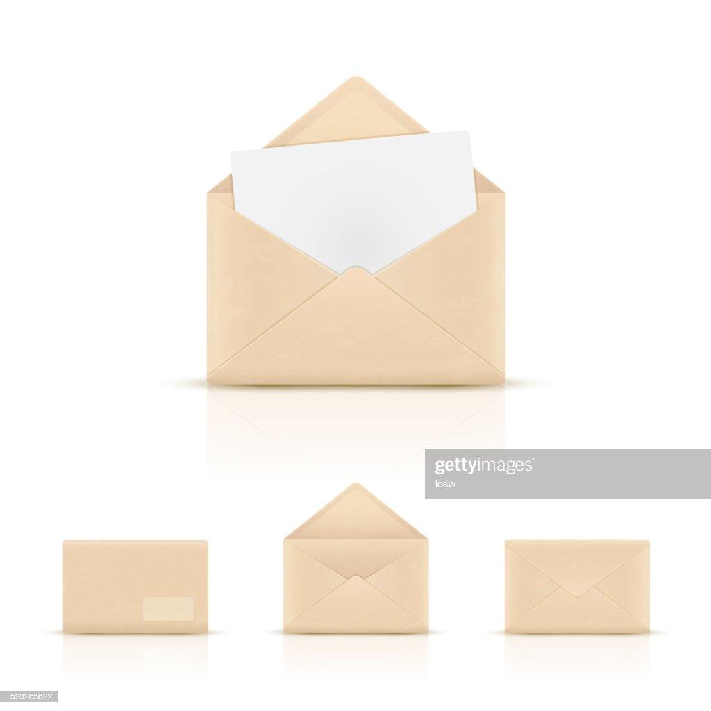 Brown paper envelopes