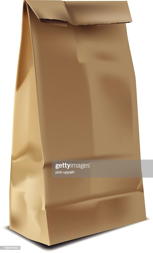 Brown Paper Lunch Sack