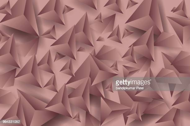 Brown polygons background