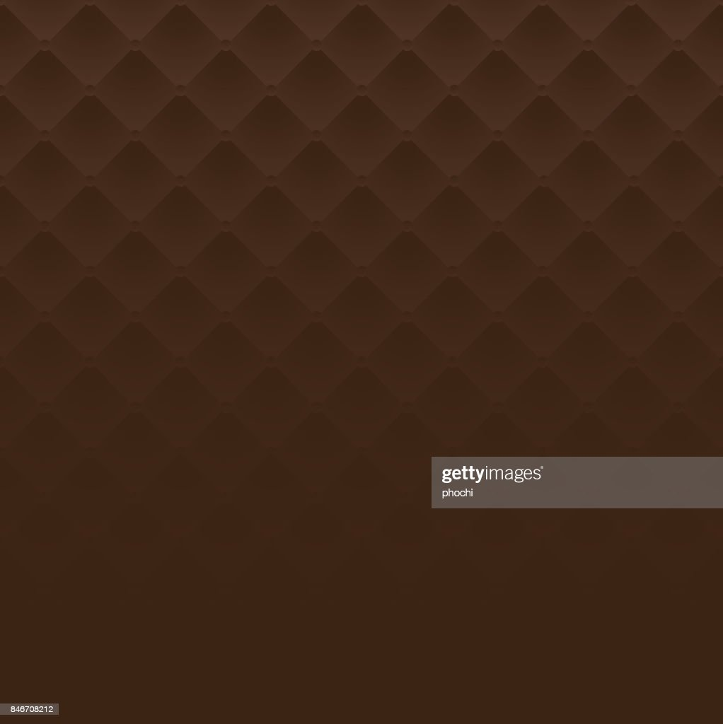Brown square luxury pattern sofa texture background