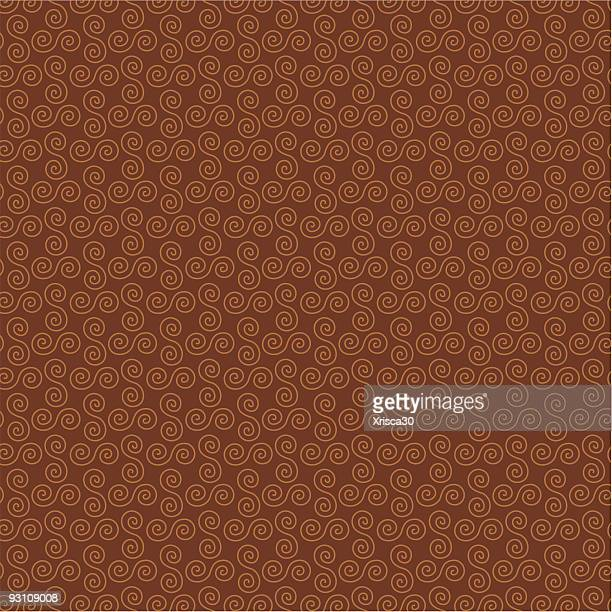 brown swirl background pattern