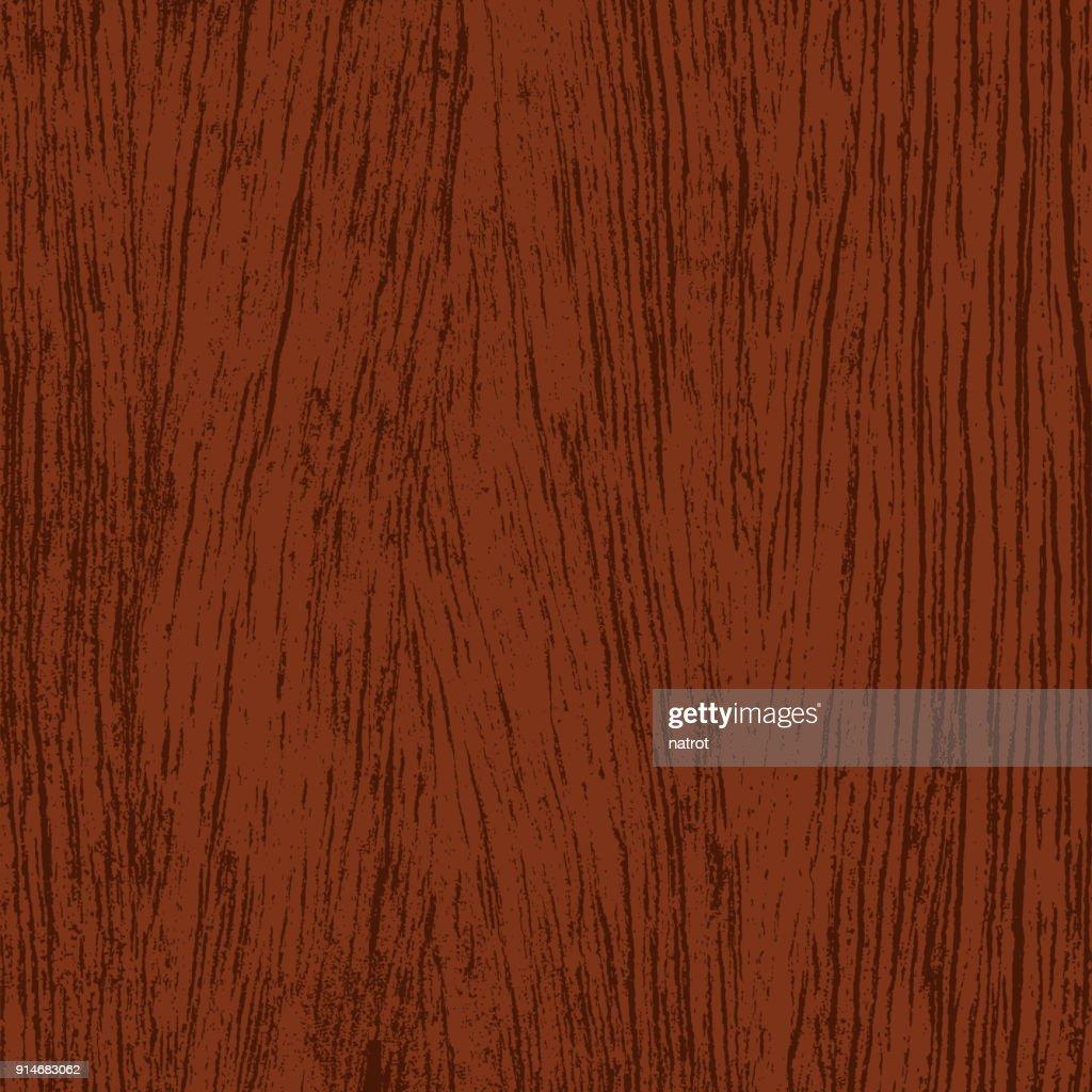 Brown wood texture background, vector