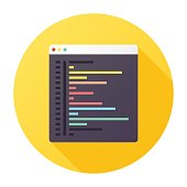 Browser Coding Icon