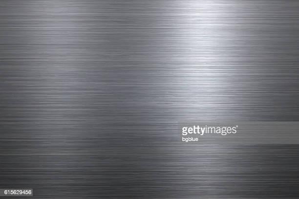 brushed metal background - steel stock illustrations