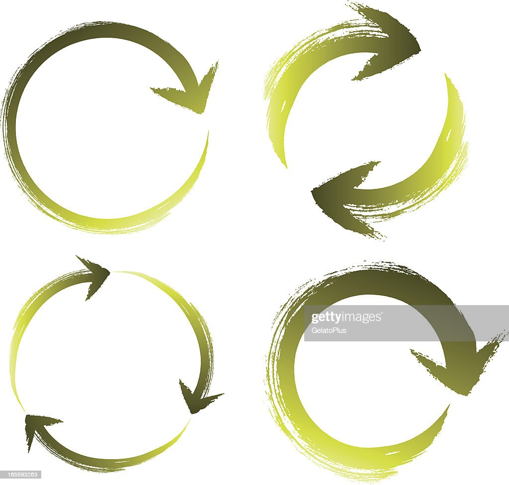 Brushstroke recycle icons vector art getty images brushstroke recycle icons vector art buycottarizona Image collections