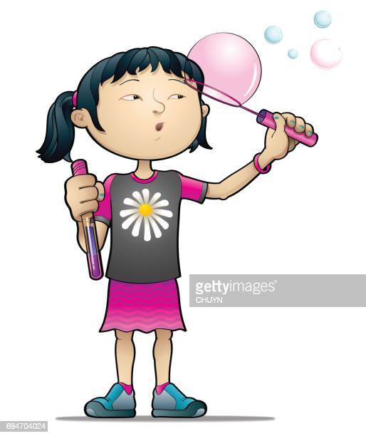 bubbles and innocence - only japanese stock illustrations, clip art, cartoons, & icons