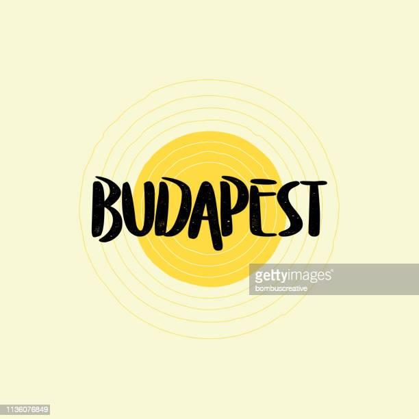 Budapest Lettering Design