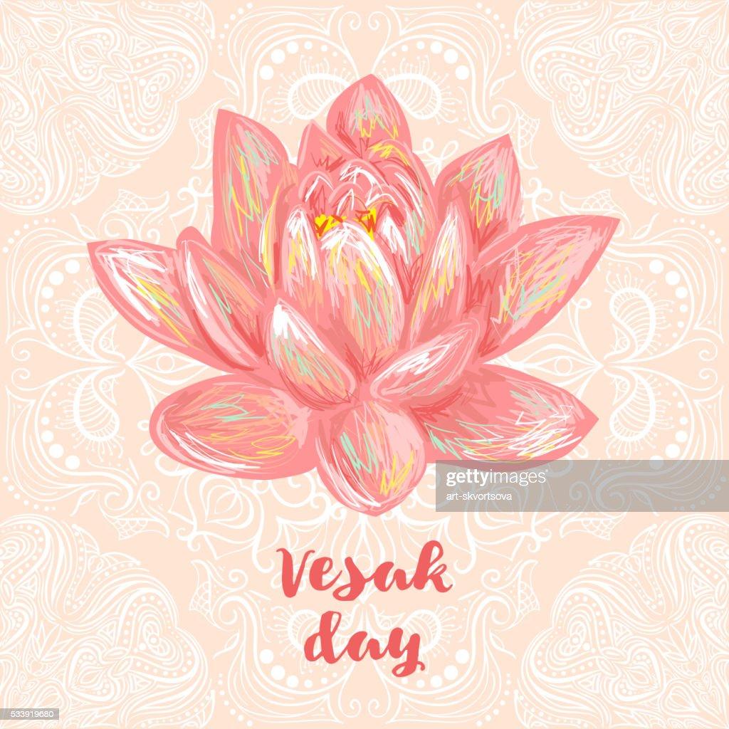 Buddha Purnima Or Vesak Background Vector Art Getty Images