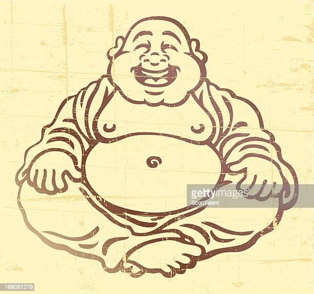 buddha - buddha stock illustrations