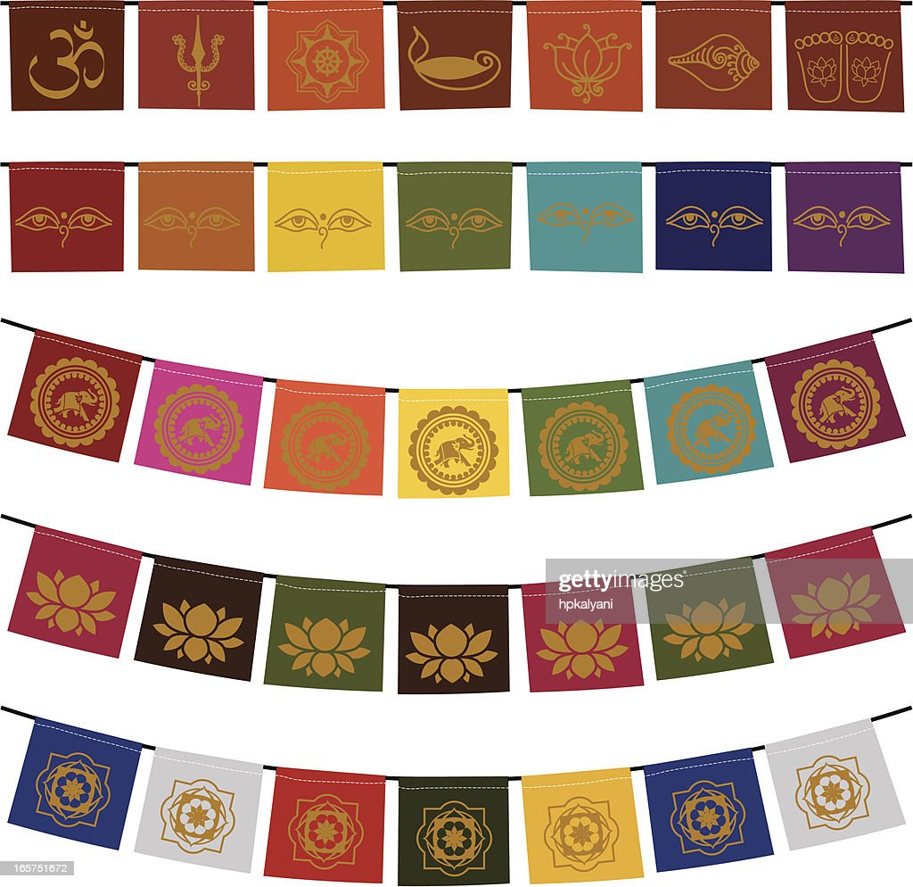 what are buddhist prayer flags