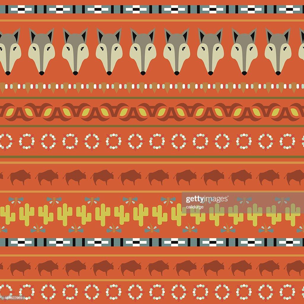 buffalo pattern