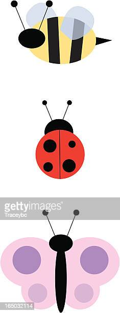 bugs - bumblebee stock illustrations, clip art, cartoons, & icons