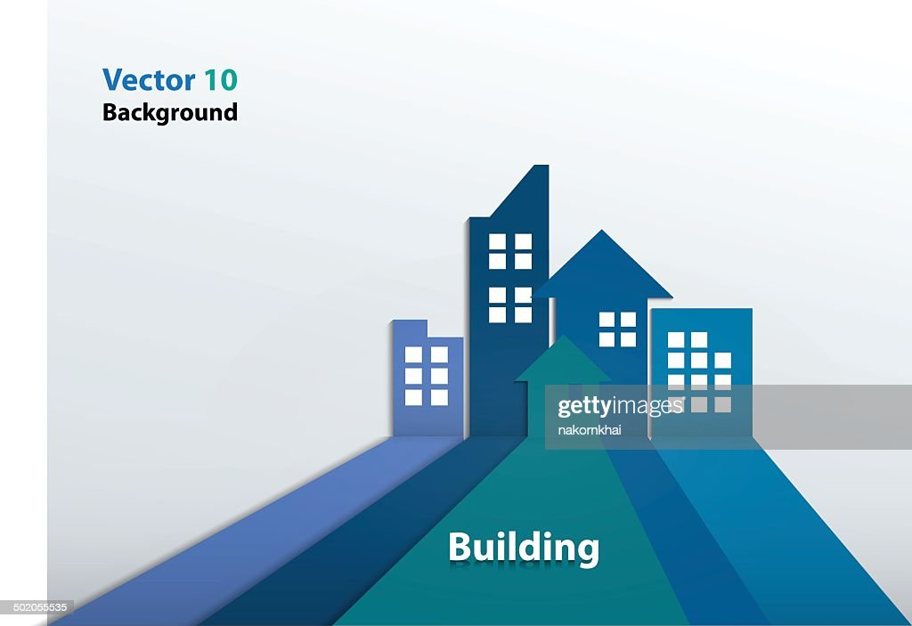 Building and houses Illustration