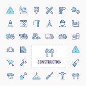 Building Construction Icon Set
