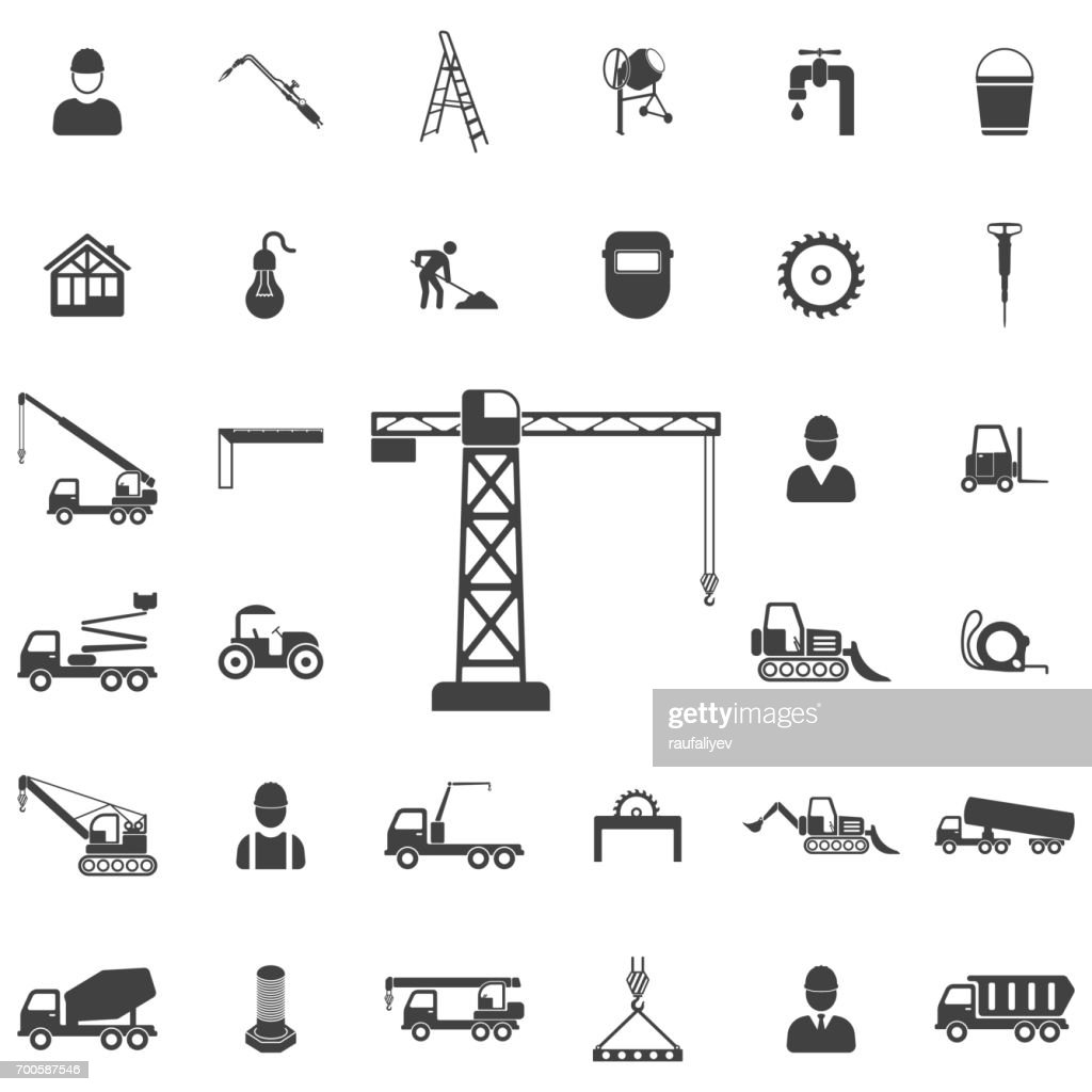 building crane icon