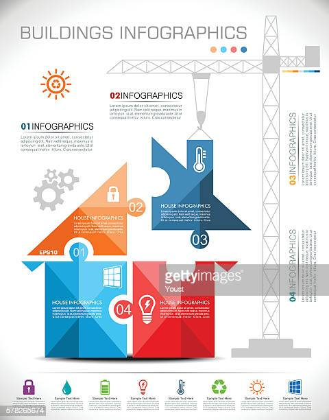 Building House Infographics