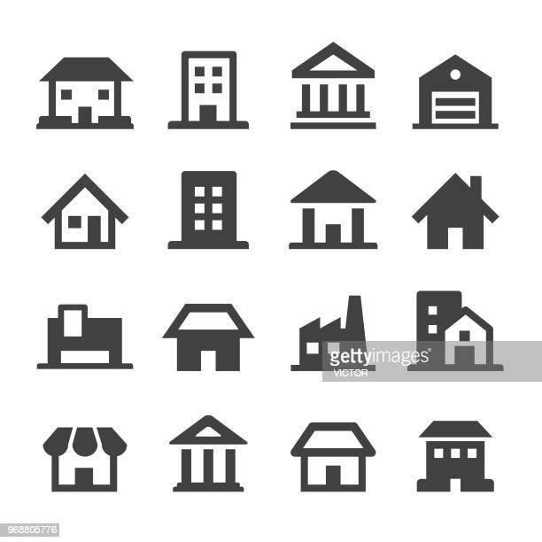Building Icons - Minimal Series