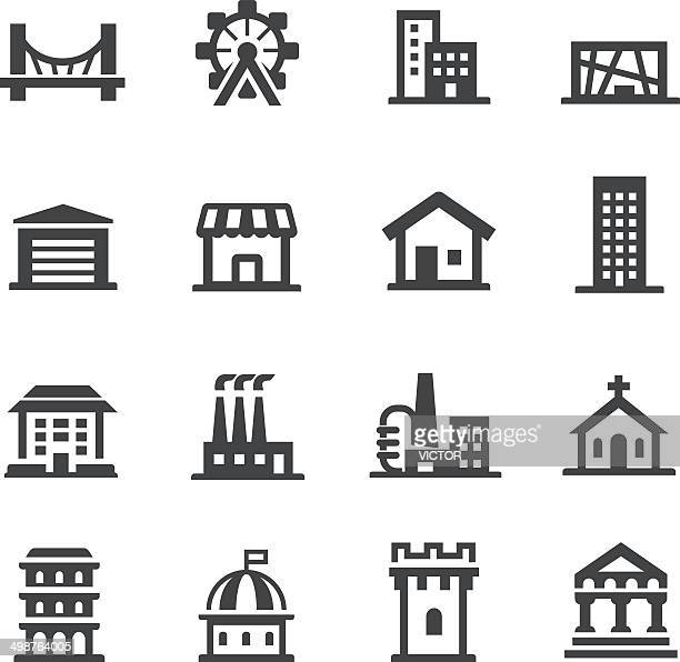 Building Icons Set - Acme Series